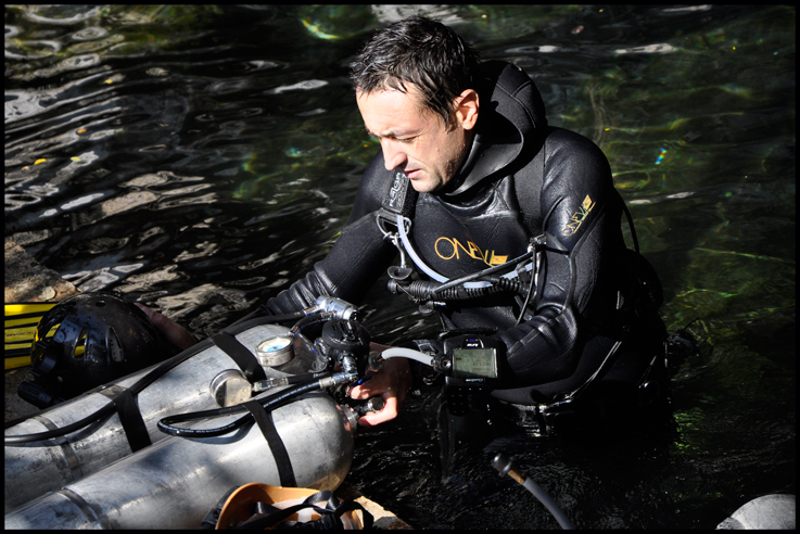 Ivo Kalushev Cave Diving