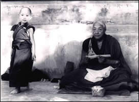 Rabjam Rinpoche and Khyentse